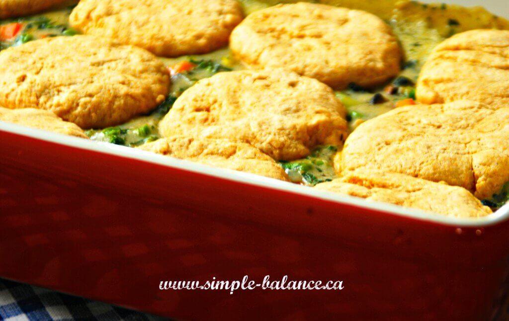 chicken pot pie healthy eating
