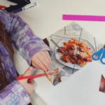 recycled magazine diy puzzles fine motor skills kids