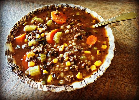 Minestrone Soup recipe fall family meal ideas freezer friendly one pot