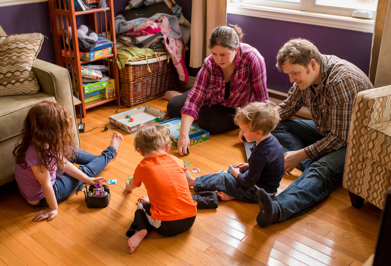 survivng winter family fun