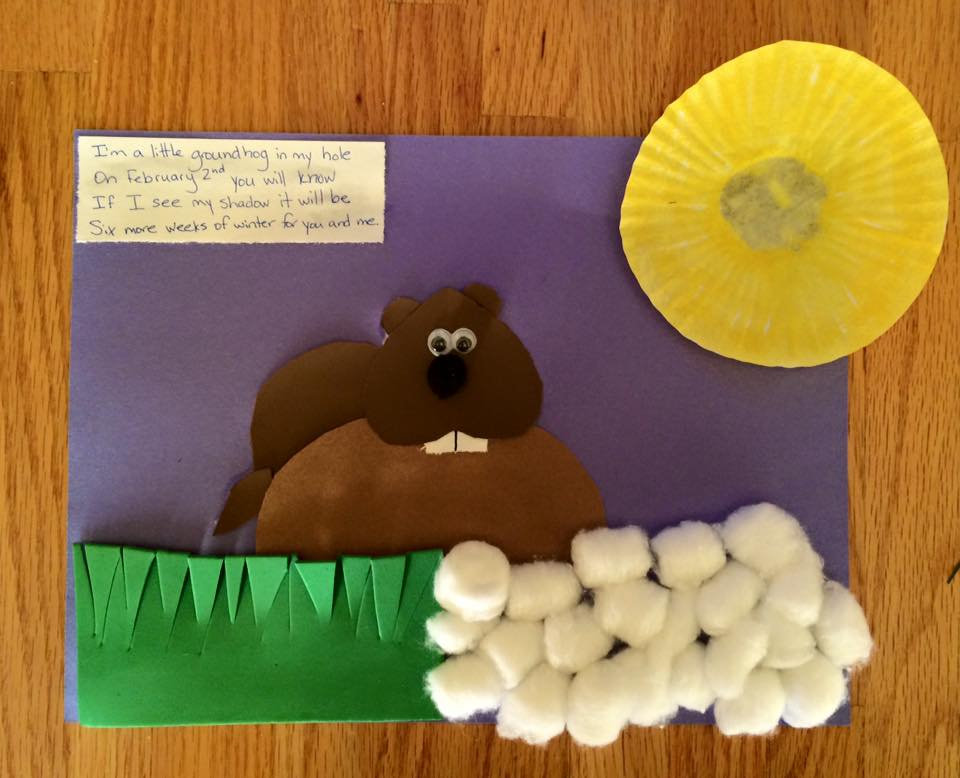 simple groundhog day crafts and trivia for families from pickle planet moncton