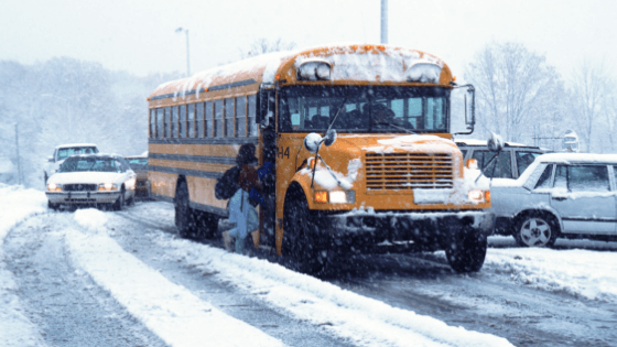 storm days new brunswick review snow winter class time