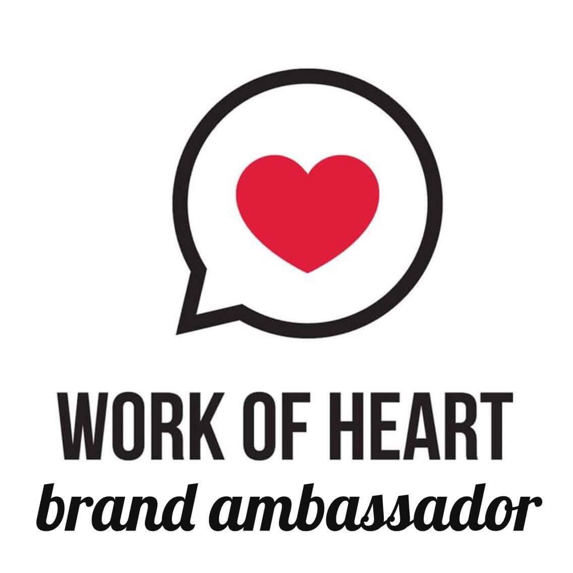 work of heart moncton brand ambassador