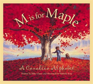 m is for a maple kids book