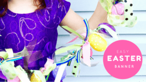 Easy Easter DIY Banner Pickle Planet Moncton