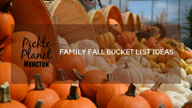 FAMILY FALL BUCKET LIST IDEAS