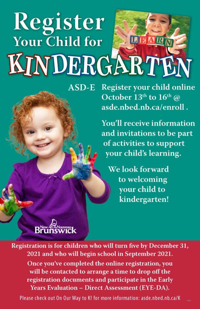 how to register for school in moncton