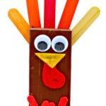 Thanksgiving Day Wooden Turkey Craft DIY