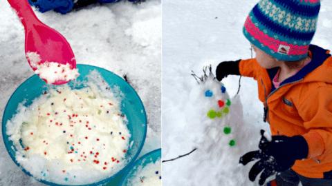 fun ideas snow kids activities outside inside winter moncton