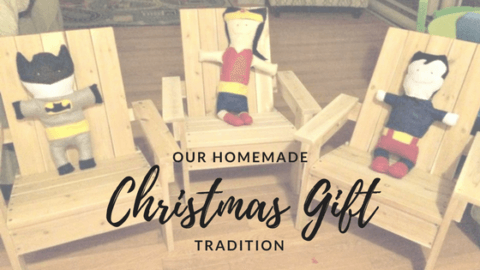 homemade christmas gift tradition diy crafts kids family ideas