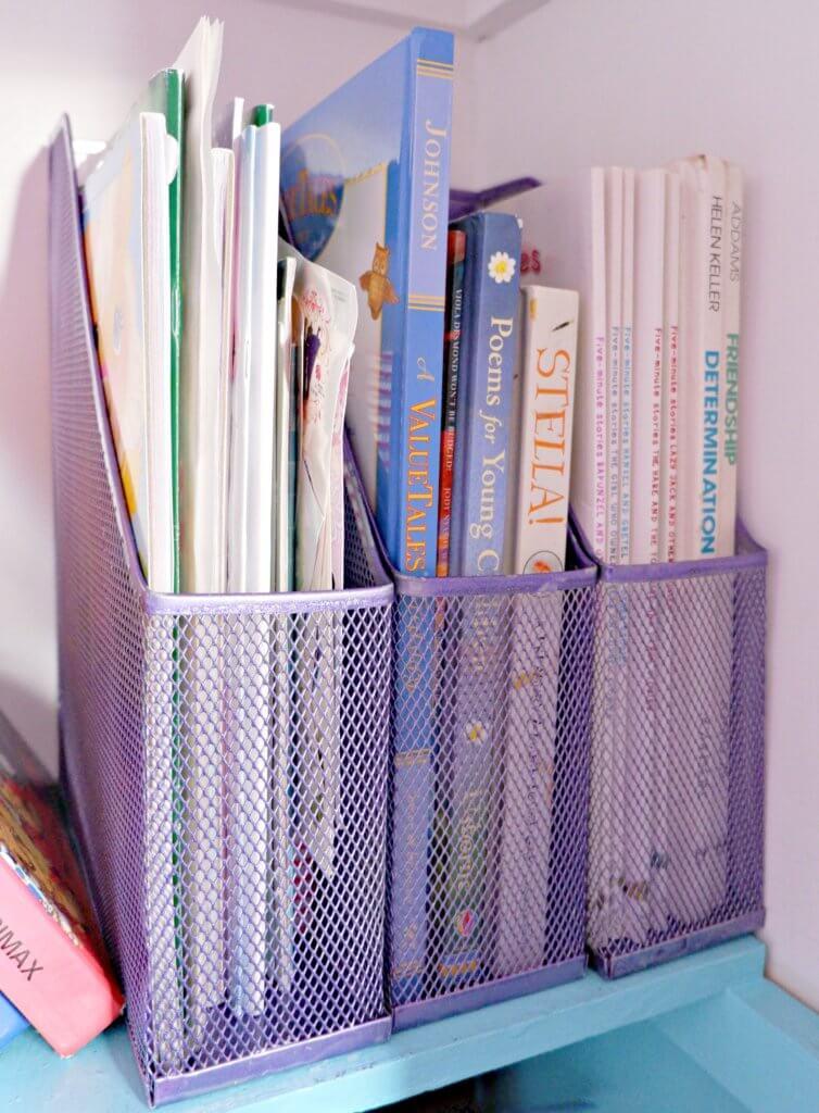declutter organize kids toys colouring books crafts paper storage parenting moncton tips tricks hacks clutter organize
