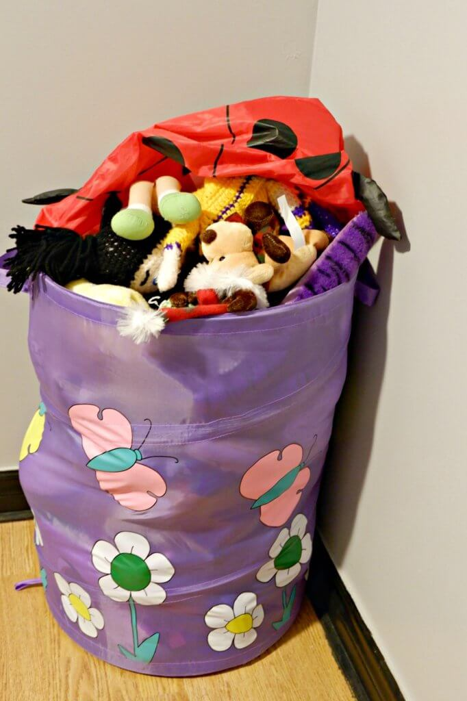 declutter organize kids toys stuffed animals stuffies storage parenting moncton consignment