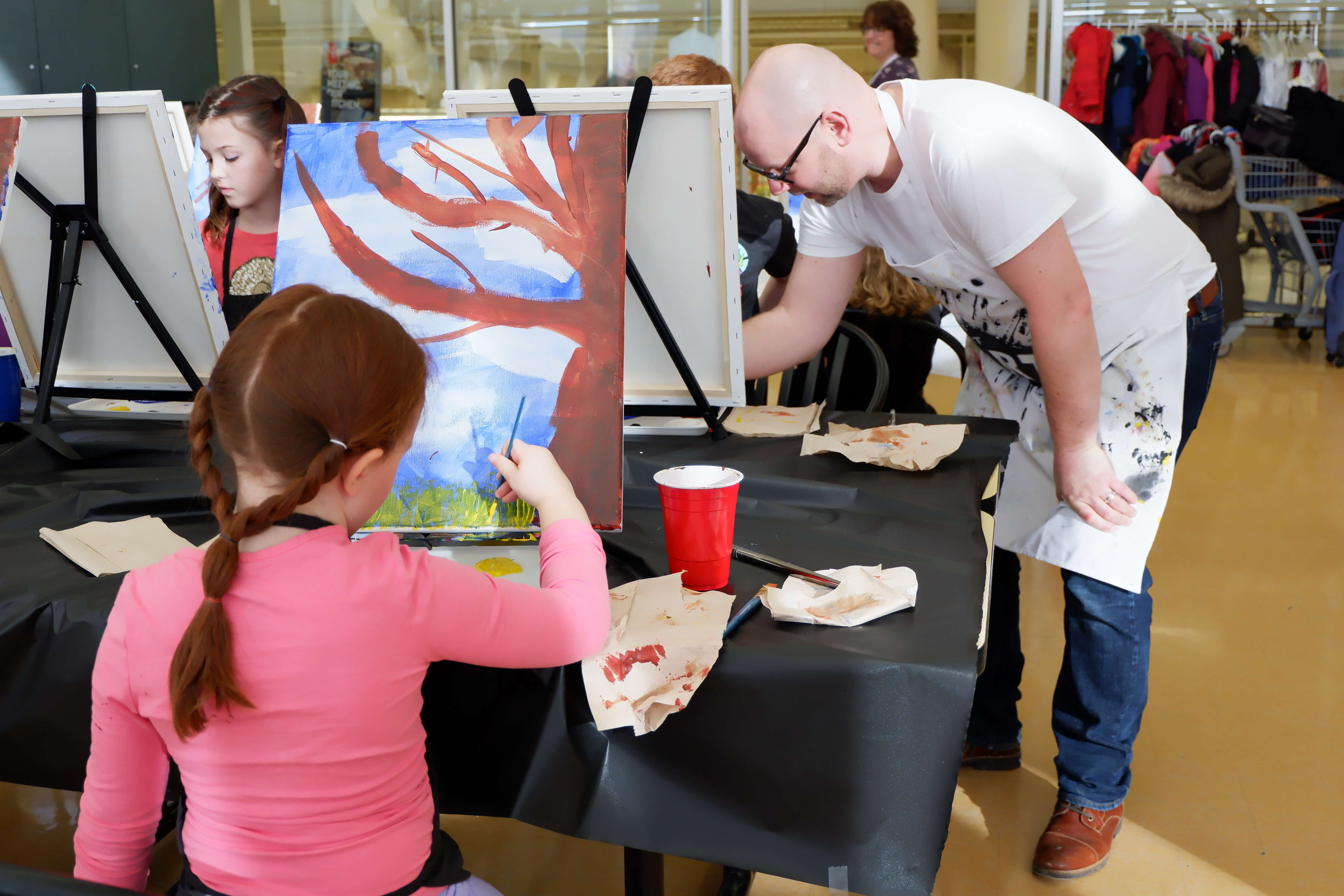 things to do moncton kids family parents paint night fun