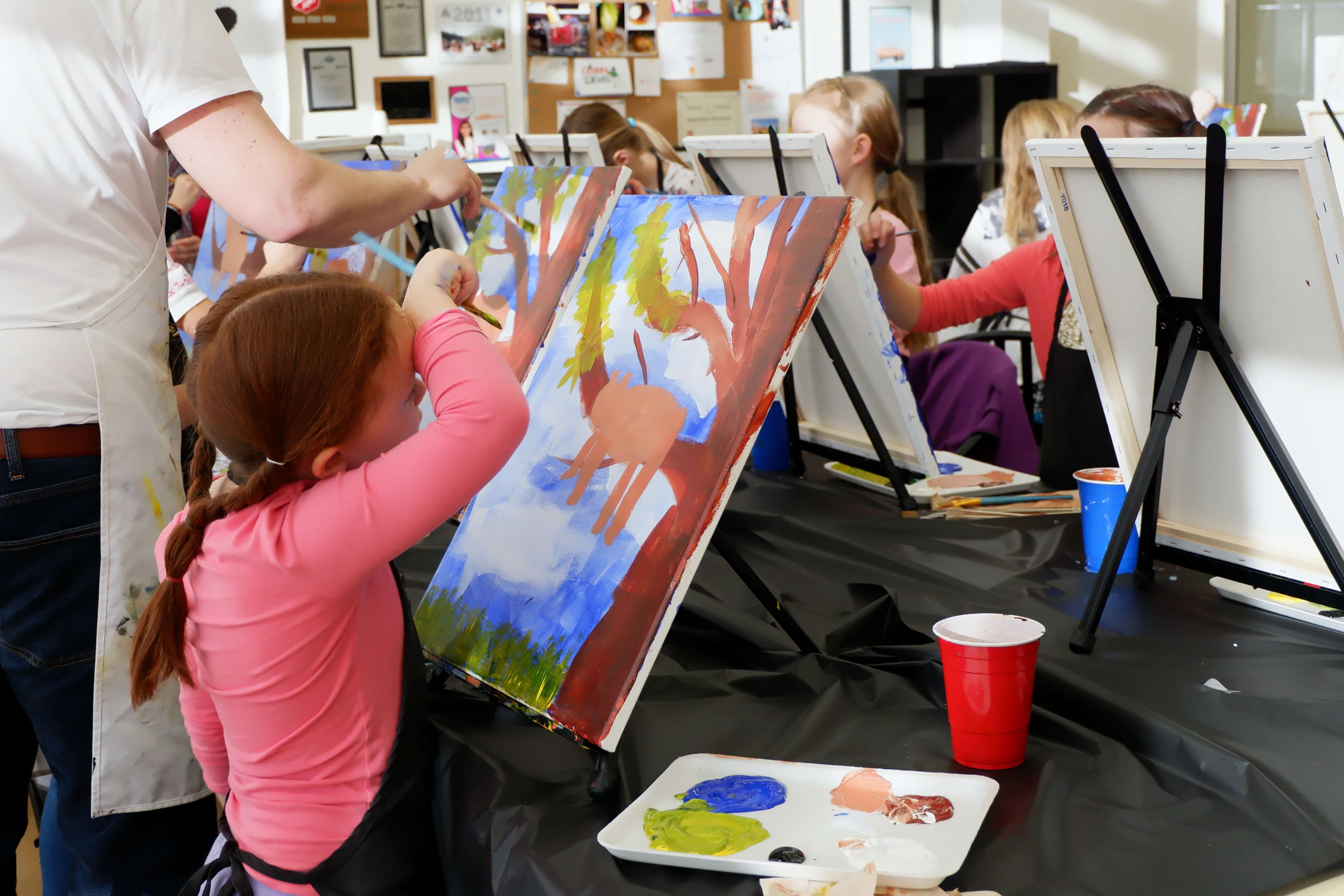 things to do moncton kids family parents fun paint workshop