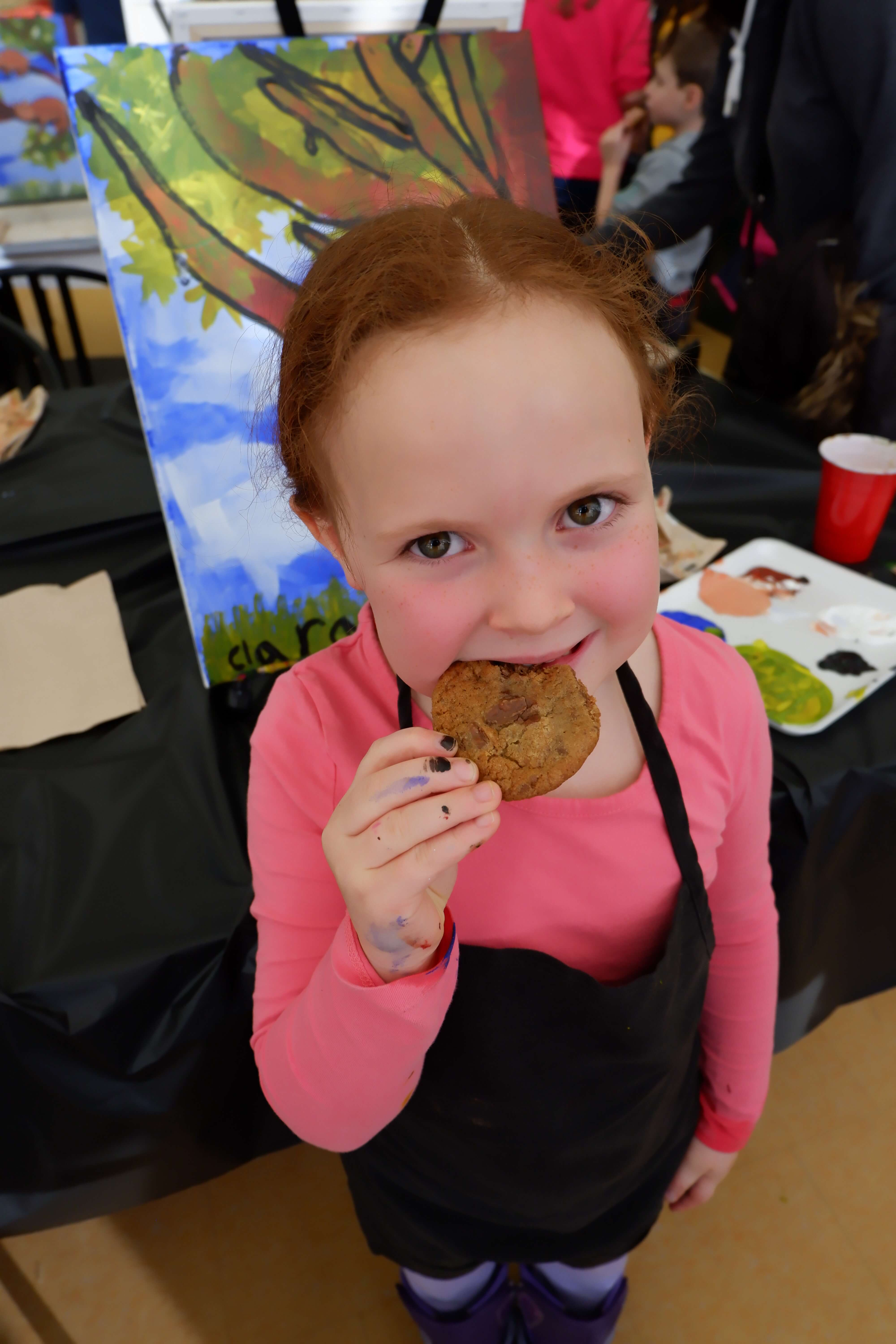 things to do moncton kids family parents baking painting workshop art