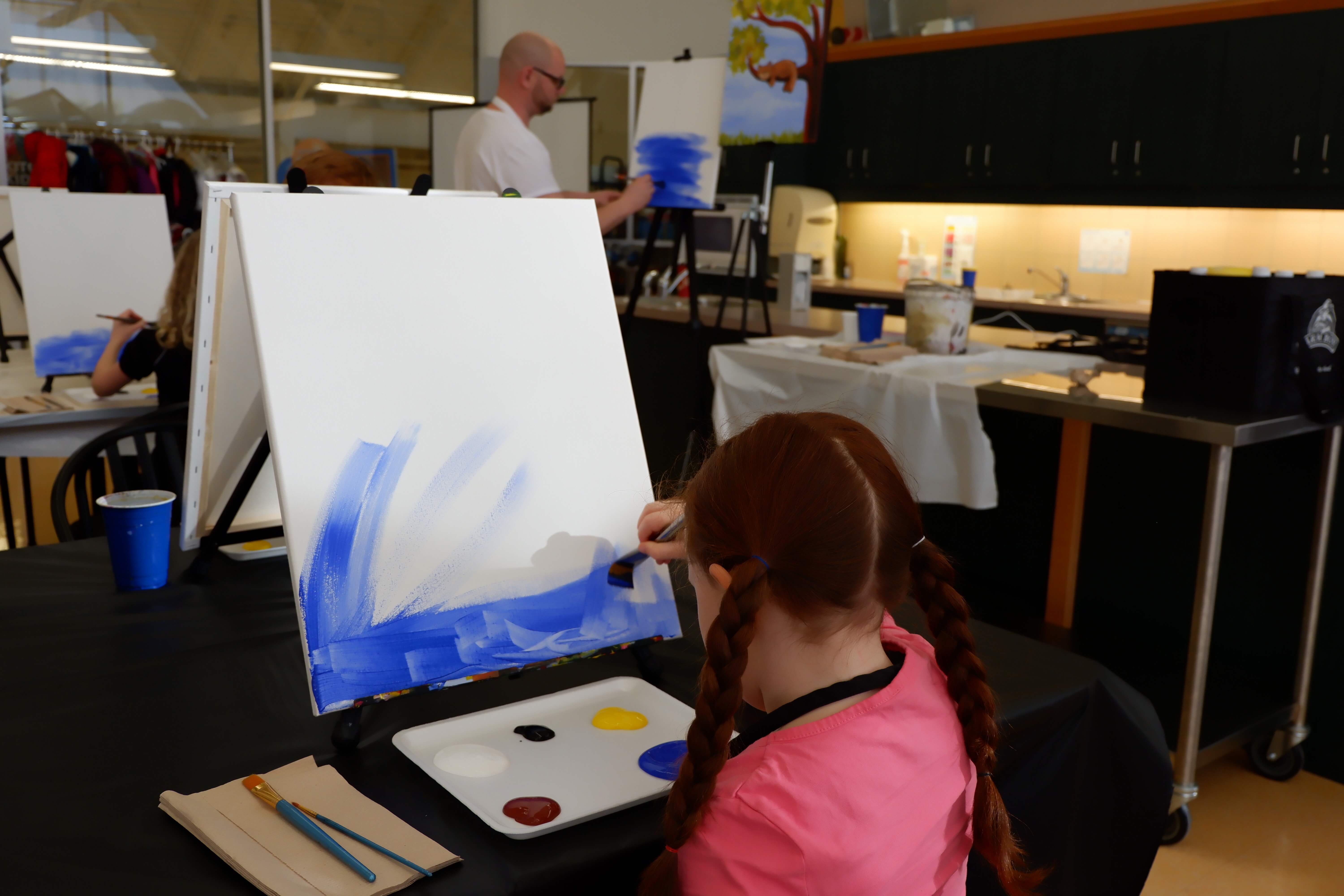 things to do moncton kids family parents paint night