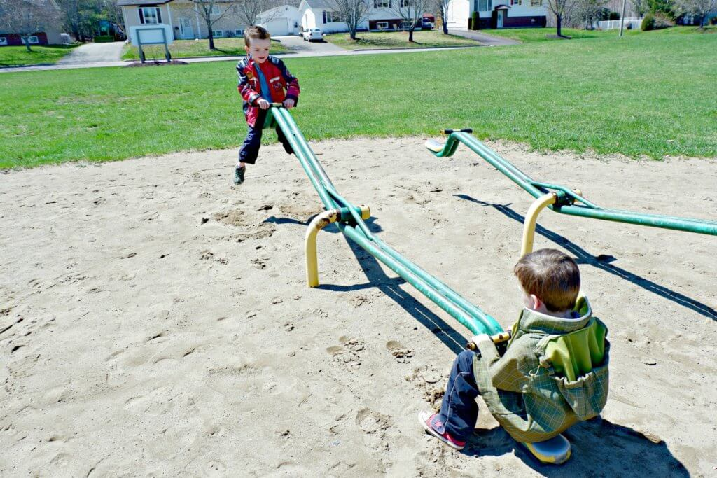 best playground park moncton riverview dieppe Goldsboro Park teeter totters