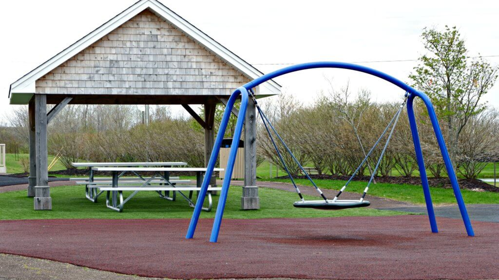 best playground park moncton riverview dieppe rotary accessible swings