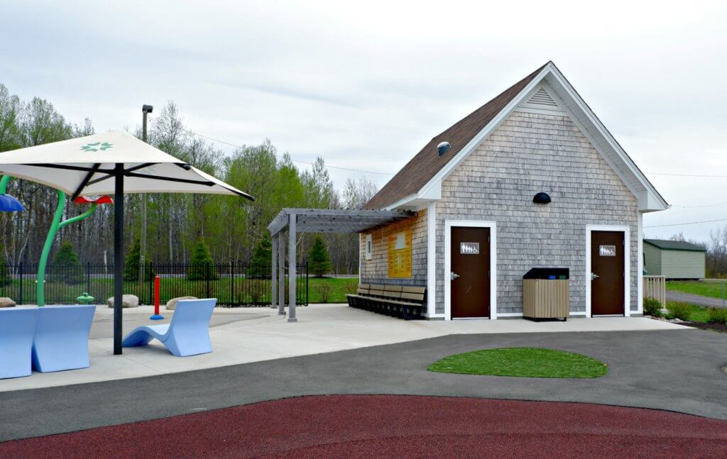best playground park riverview moncton dieppe rotary park accessible washrooms