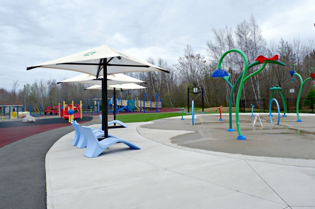 best playground park riverview moncton dieppe rotary park splash pad