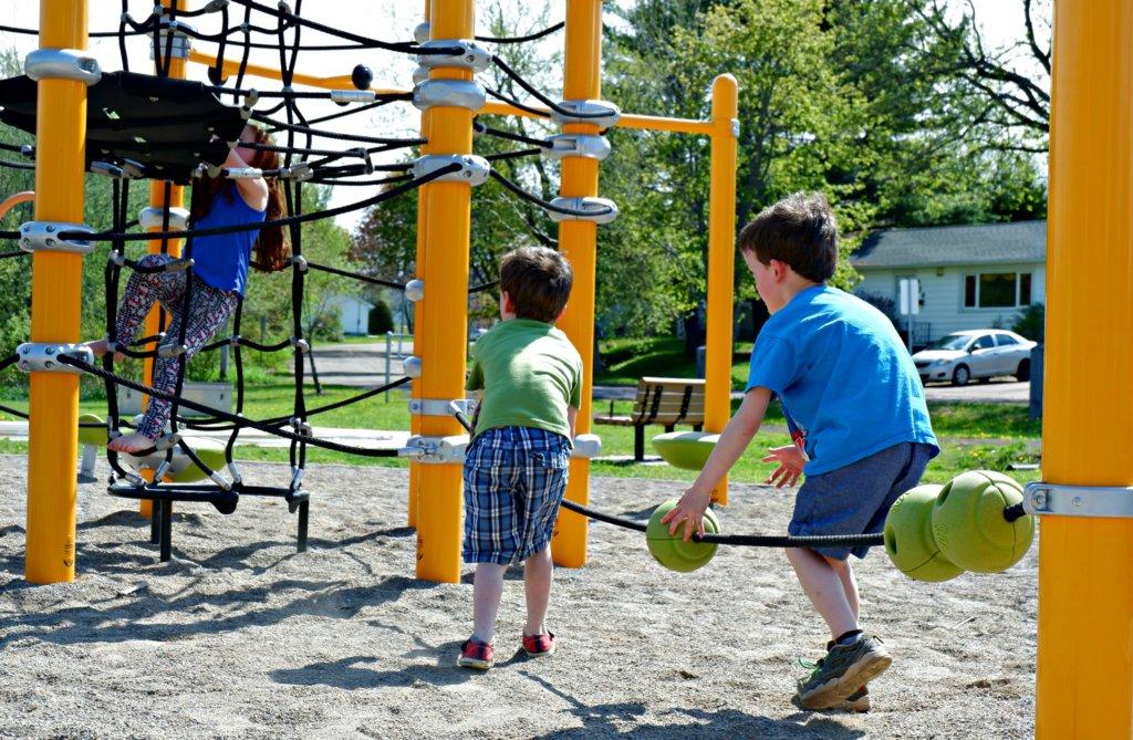 gurney drive park moncton riverview dieppe best playground family fun