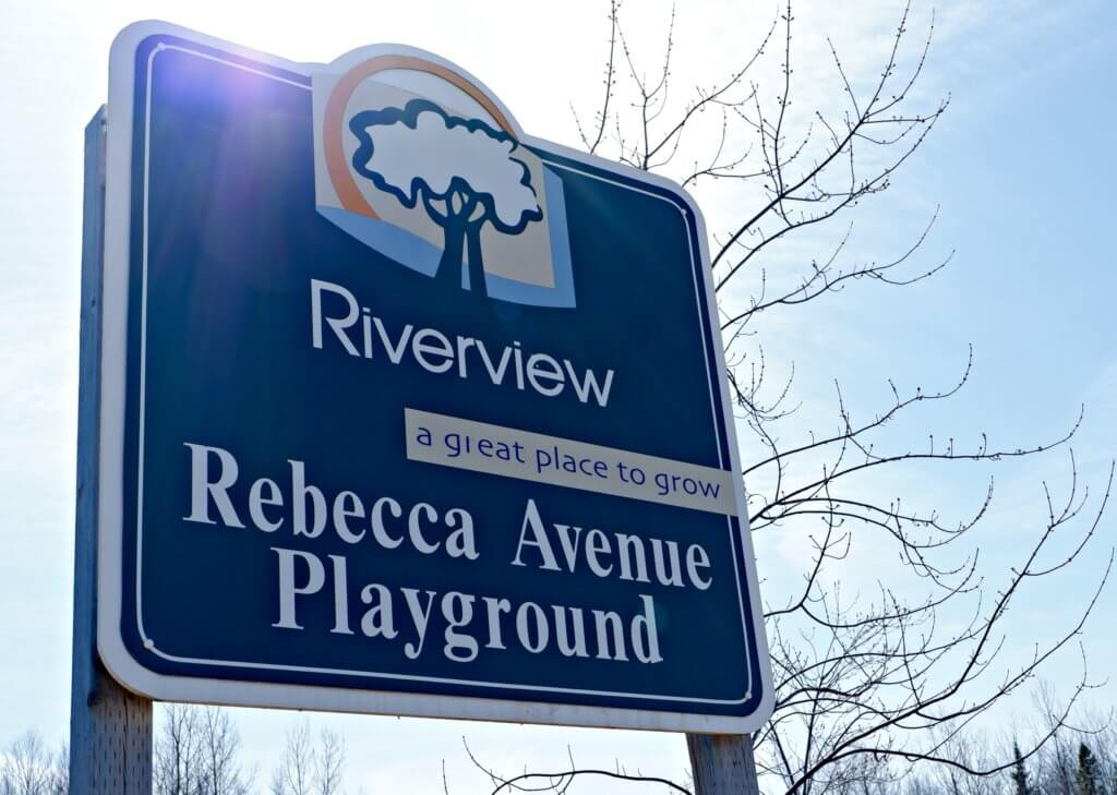 rebecca avenue playground riverview moncton dieppe natural play park pickle planet