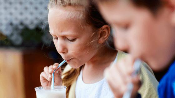 chocolate milk juice new Brunswick schools