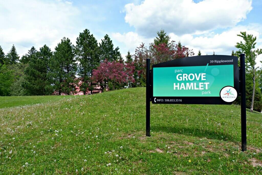 grove hamlet moncton riverview dieppe best playground park pickle planet