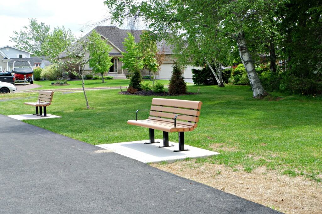 grove hamlet moncton riverview dieppe best playground park pickle planet benches
