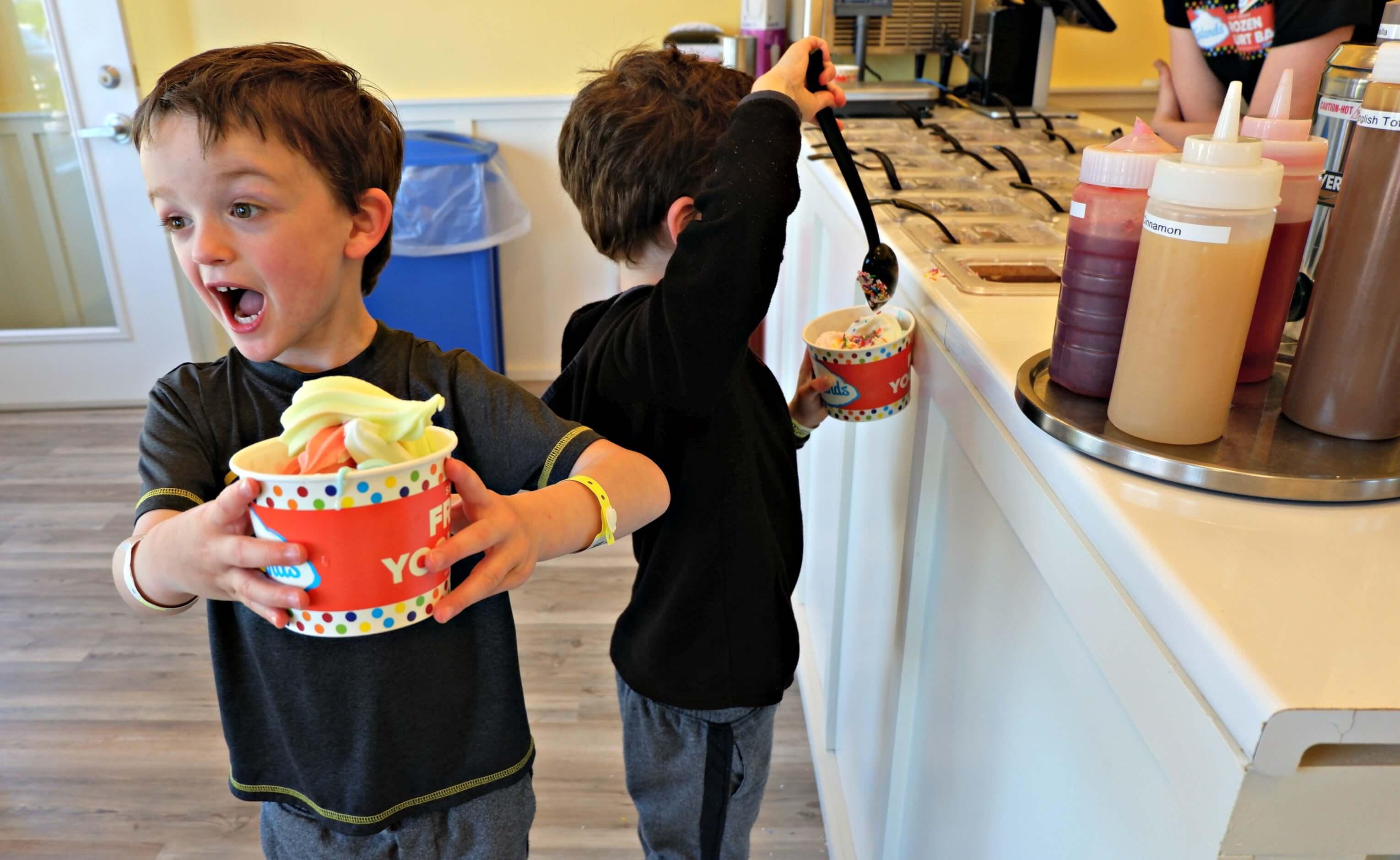 cavendish rainy day ideas pei frozen yogurt kids family things to do vacation pickle planet moncton