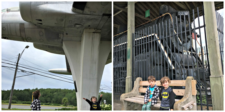 free things moncton kids family centennial park airplane train transportation