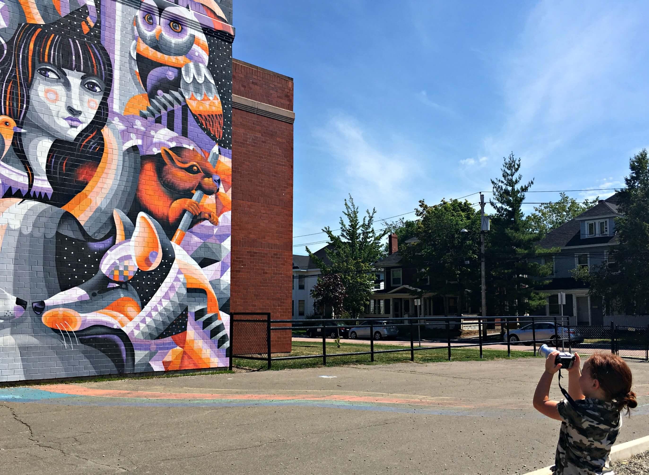 free things moncton kids family festival inspire murals public art photos pickle planet