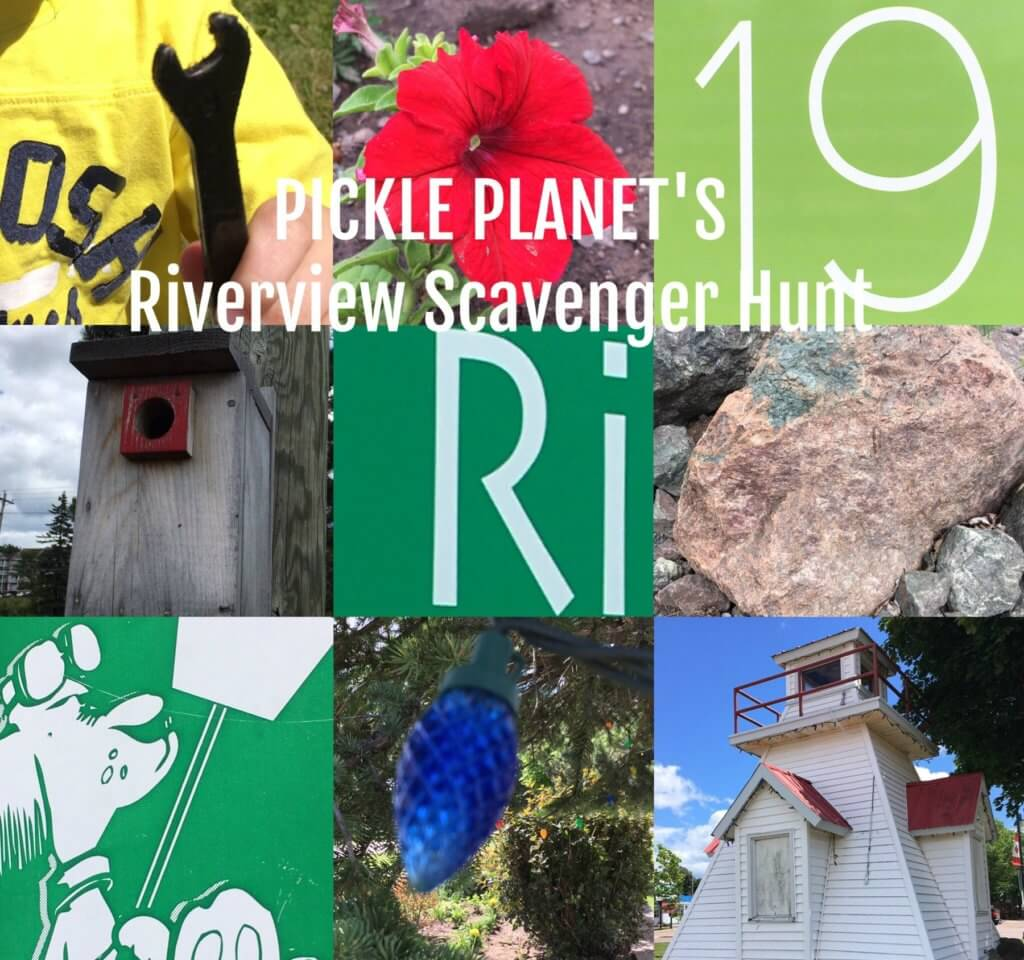 free things moncton kids family riverview photo scavenger hunt pickle planet