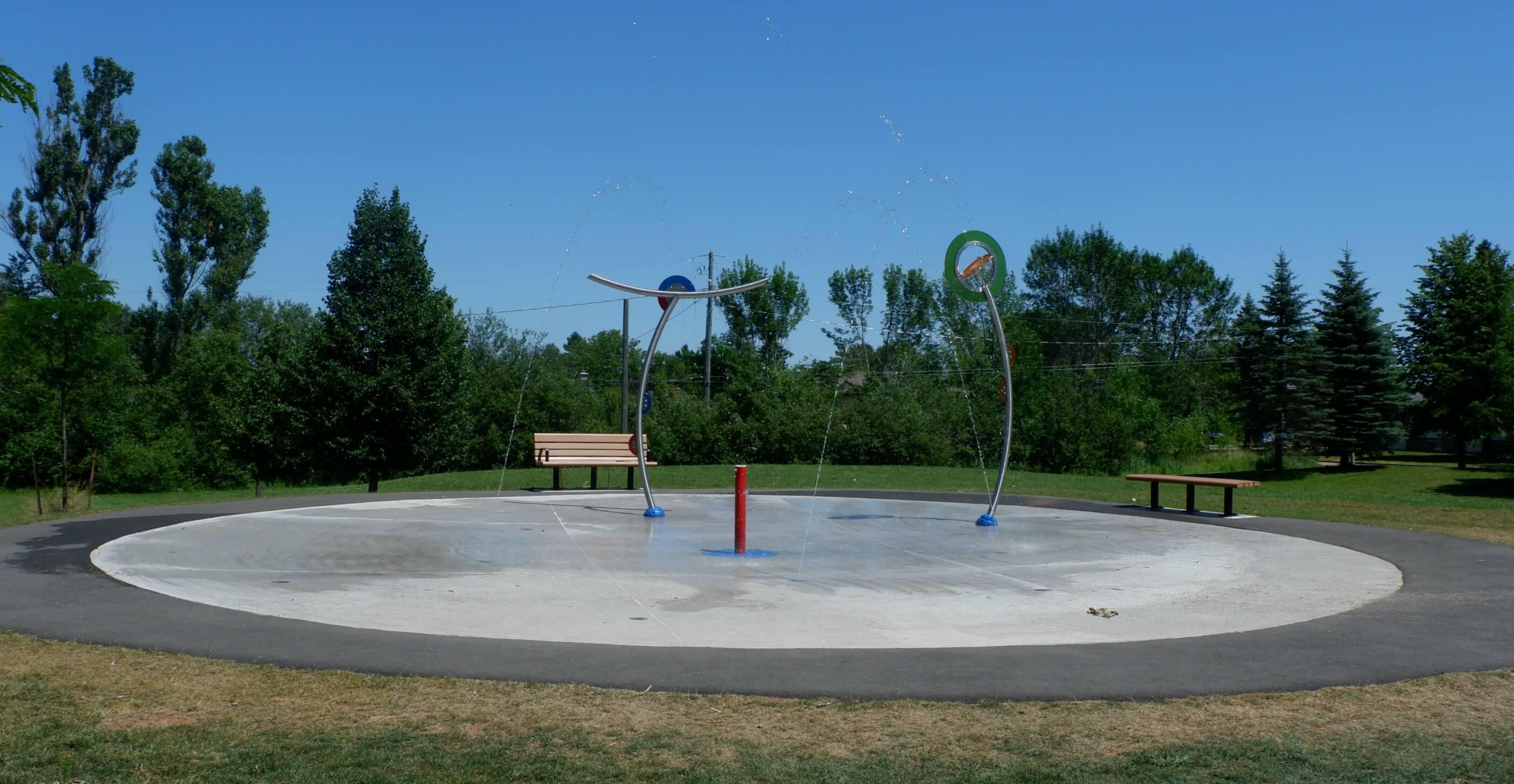maplehurst park playground moncton riverview dieppe best play new brunswick splash pad
