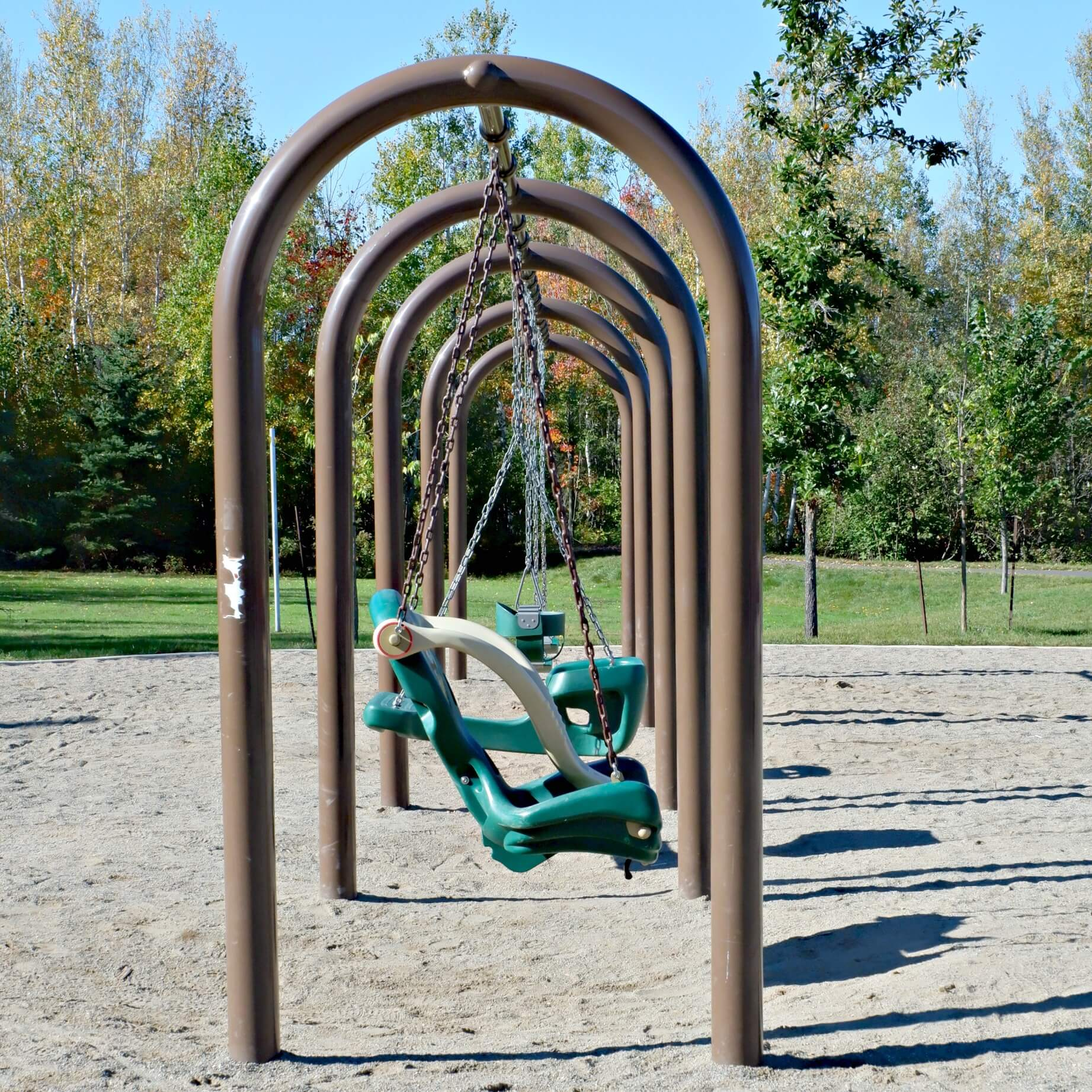 maplehurst park playground moncton riverview dieppe best play new brunswick swings