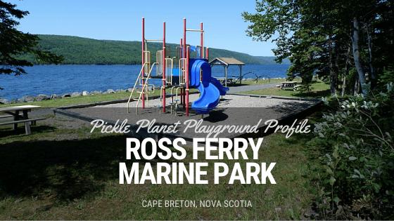 ross ferry marine park playground 15 minutes from newfoundland ferry cape breton nova scotia