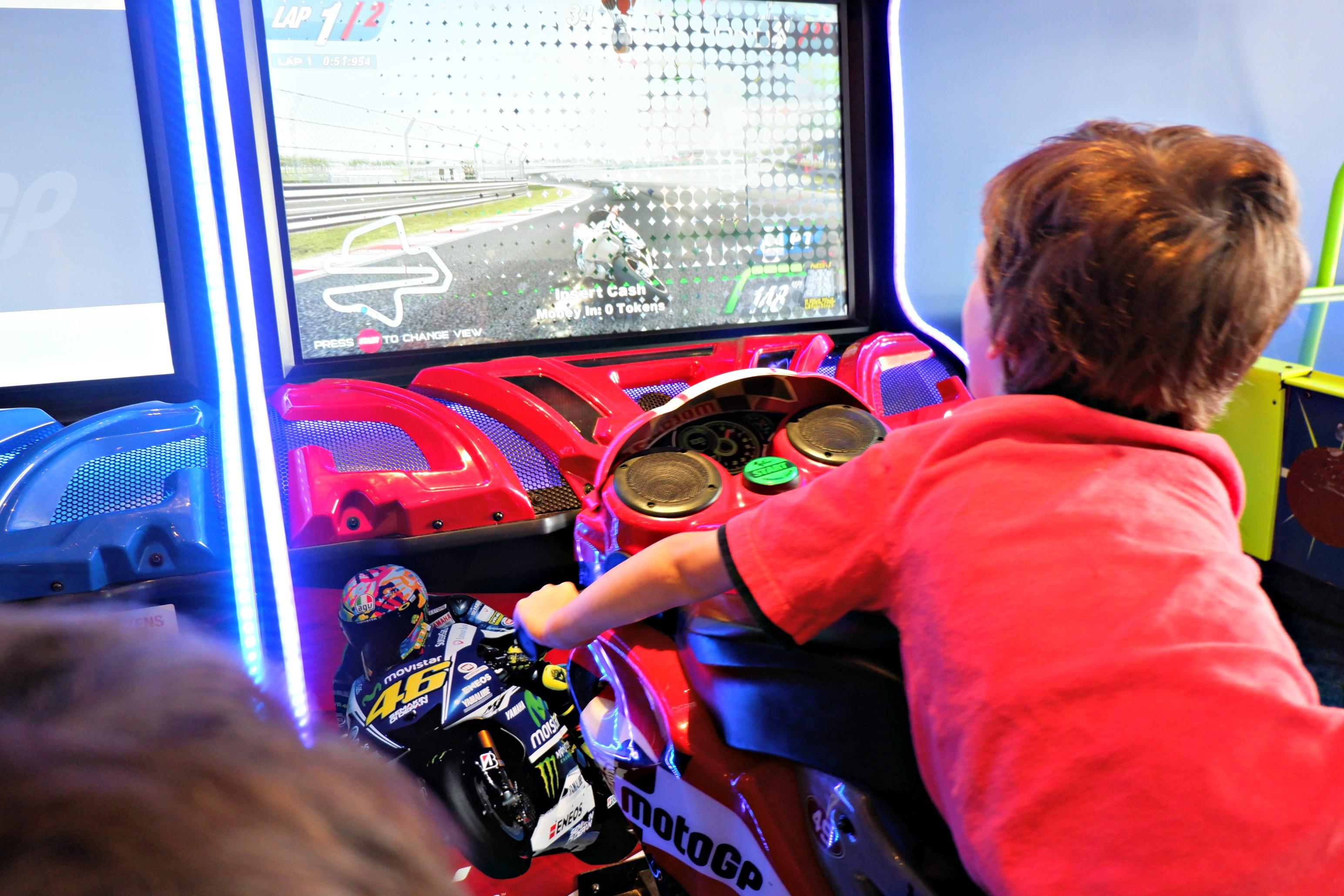 arcades moncton riverview dieppe indoor fun race car game