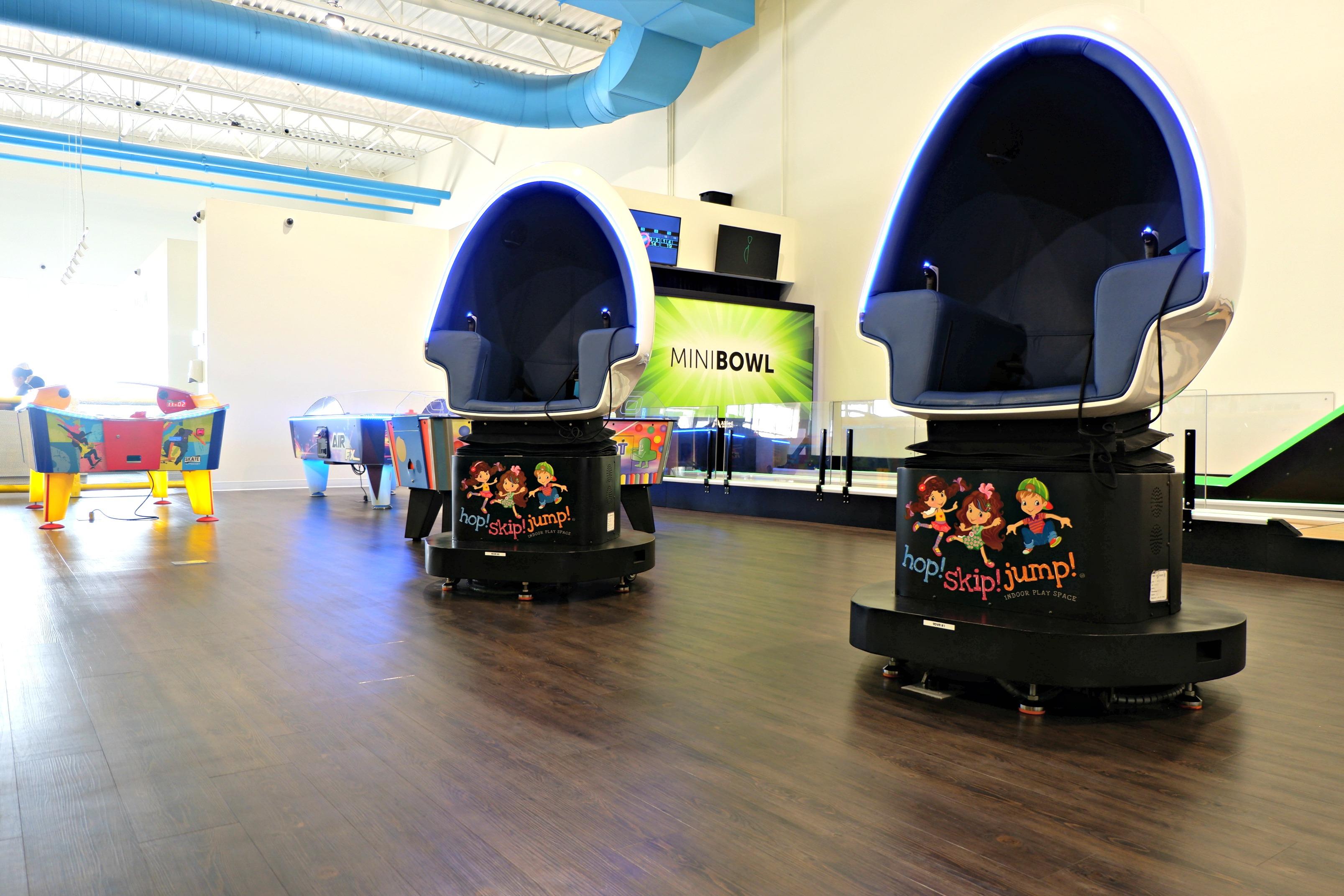 arcade moncton riverview dieppe indoor fun virtual reality