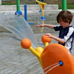 fairview knoll playground park moncton splash pad pickle planet near highway snail