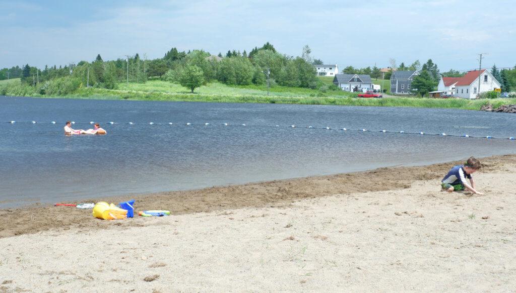 lillas fawcett park silver lake playground beach sackville moncton new brunswick summer spot best places kids family swim