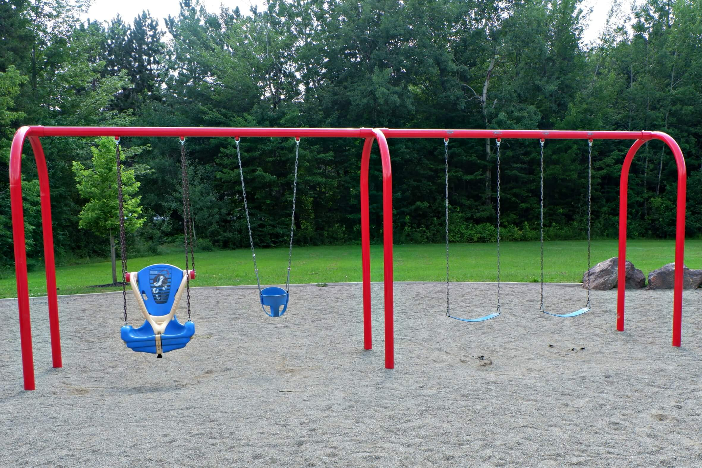 pauline frizzell park playground moncton riverview dieppe best pickle planet review accessible swing