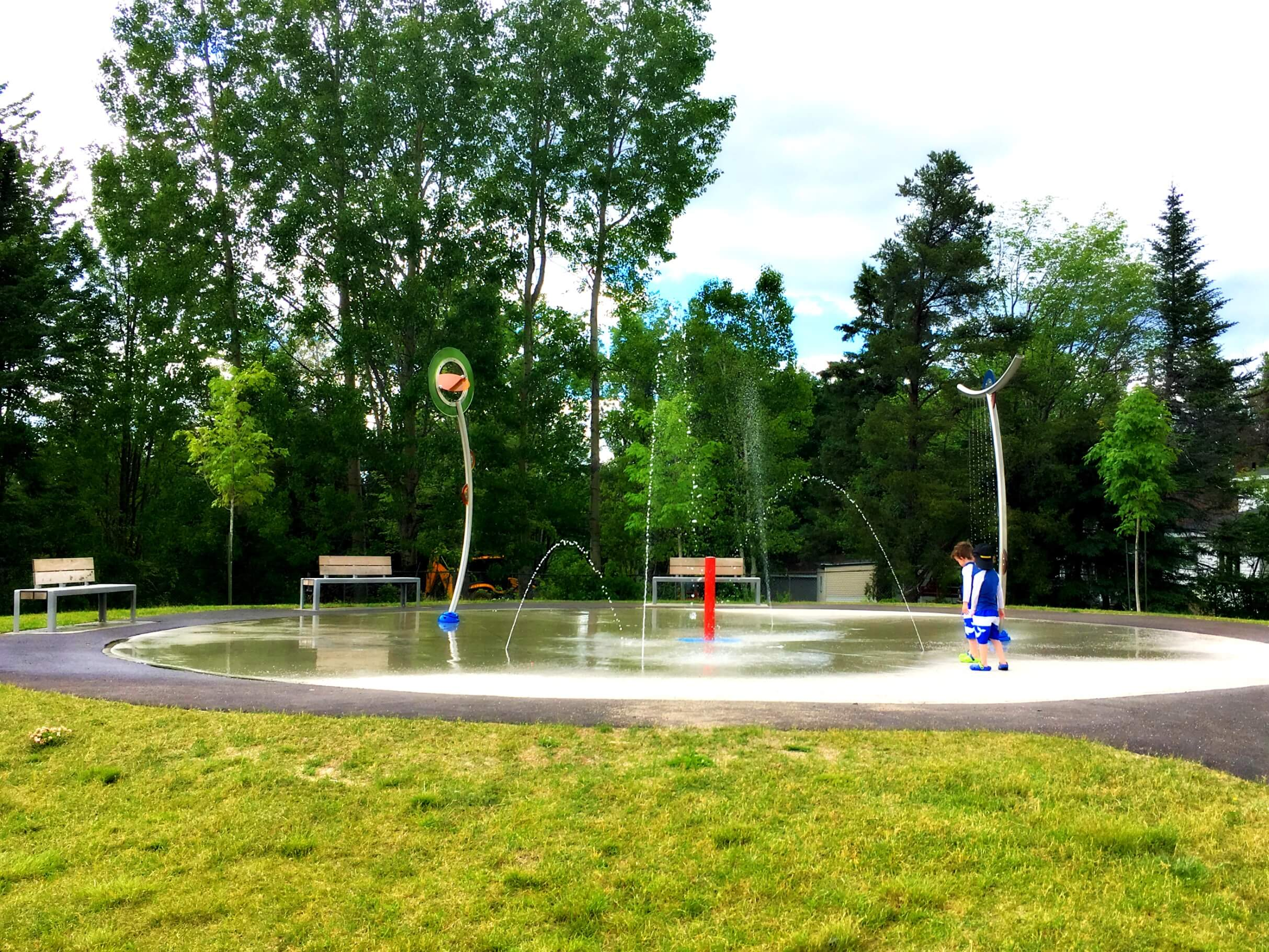 pauline frizzell park playground moncton riverview dieppe best pickle planet review splash pad