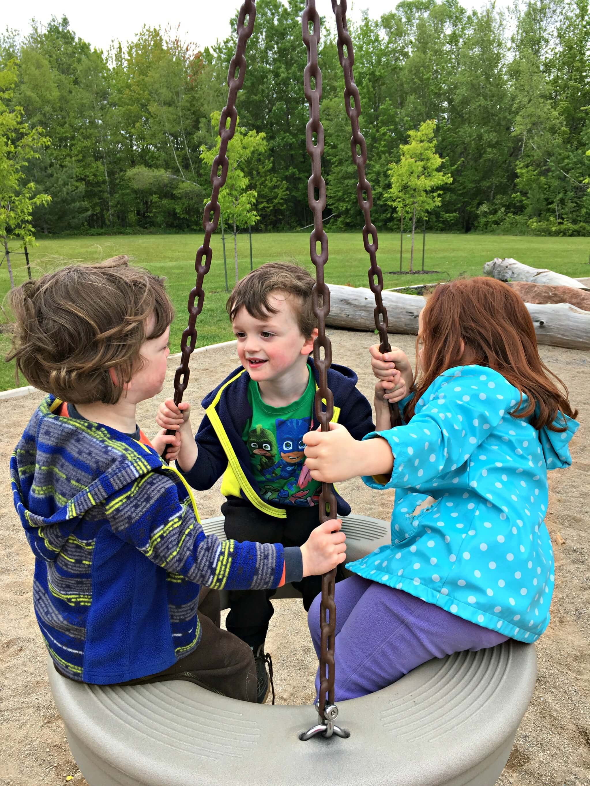 pauline frizzell park playground moncton riverview dieppe best pickle planet review tire swing