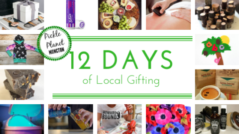 local gift guide pickle planet 12 days christmas countdown shop local support new brunswick moncton dieppe riverview