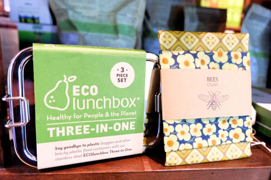 sequoia downtown eco lunch box beeswax wraps environmentally friendly gift ideas zero waste moncton riverview dieppe shop local