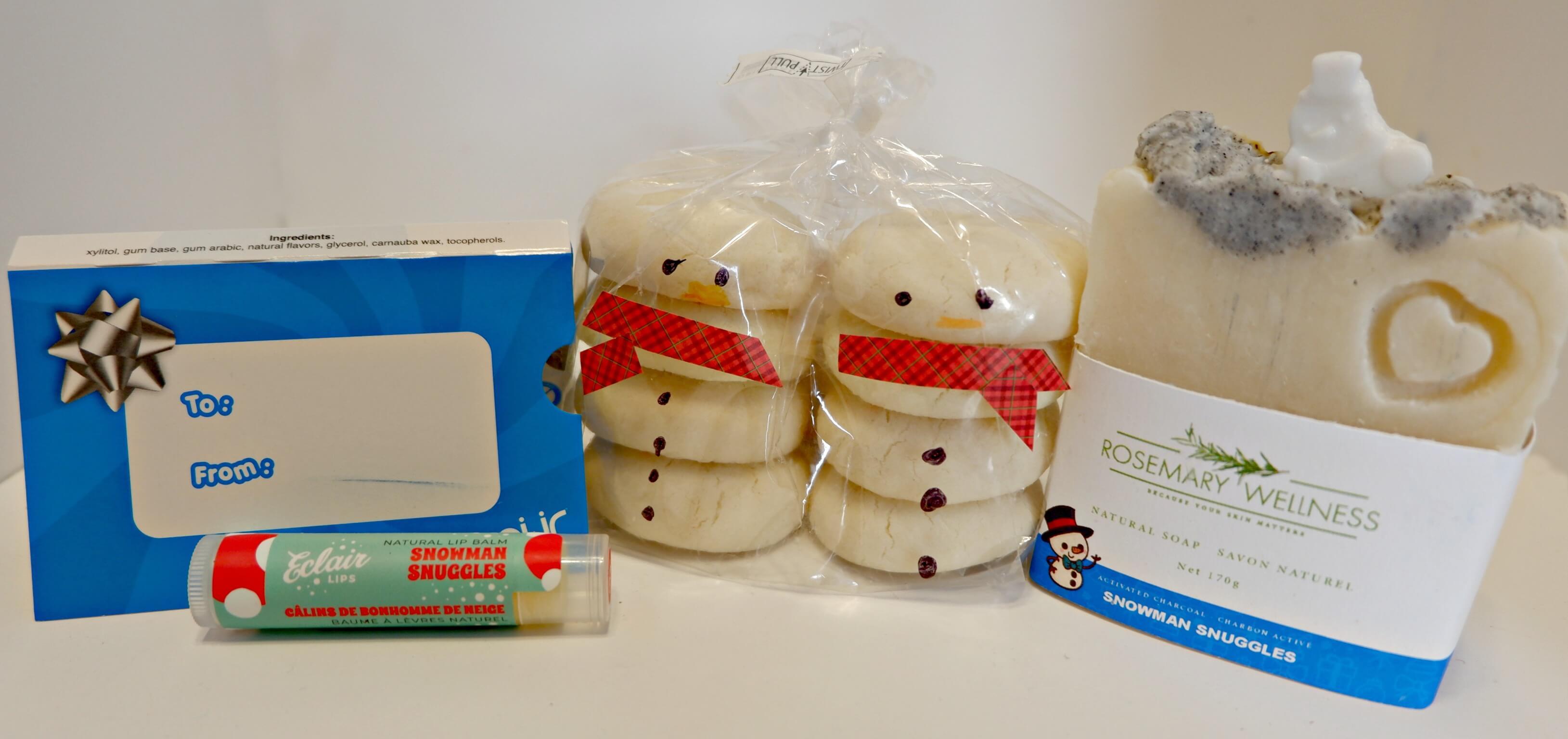 sequoia downtown gift ideas teacher christmas thank you snowman snuggles eclair lips rosemary wellness schoolhouse gluten free