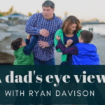 father mother and boys on beach ryan davison realtor father football coach moncton Gillette ad masculinity chore audit