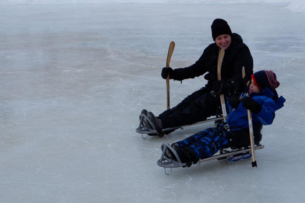riverview winter carnival pickle planet moncton sledge skating new brunswick