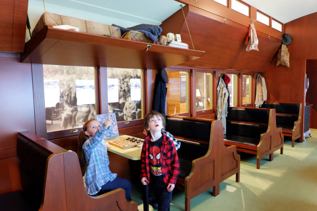march break downtown halifax pickle planet family fun museum pier 21 history train travel immigration