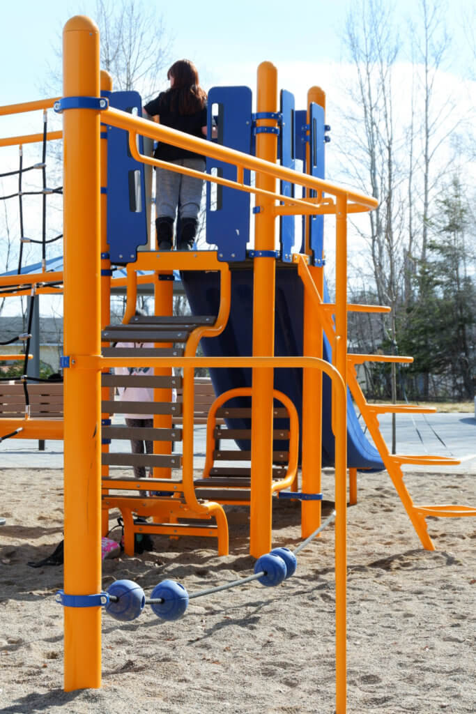 westbrook circle park community avenue playground moncton climbing structure pickle planet